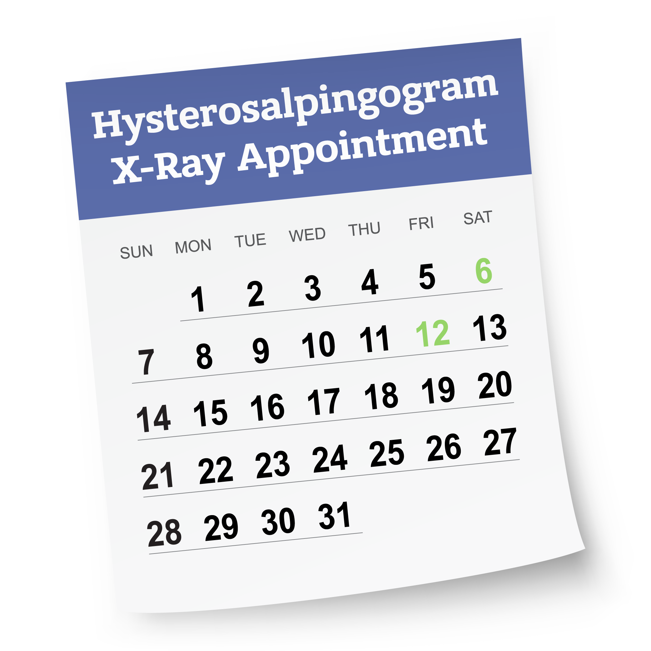 hystero xray calendar-testing page